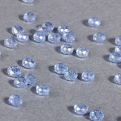 Crystal 4mm Rondelle Beads