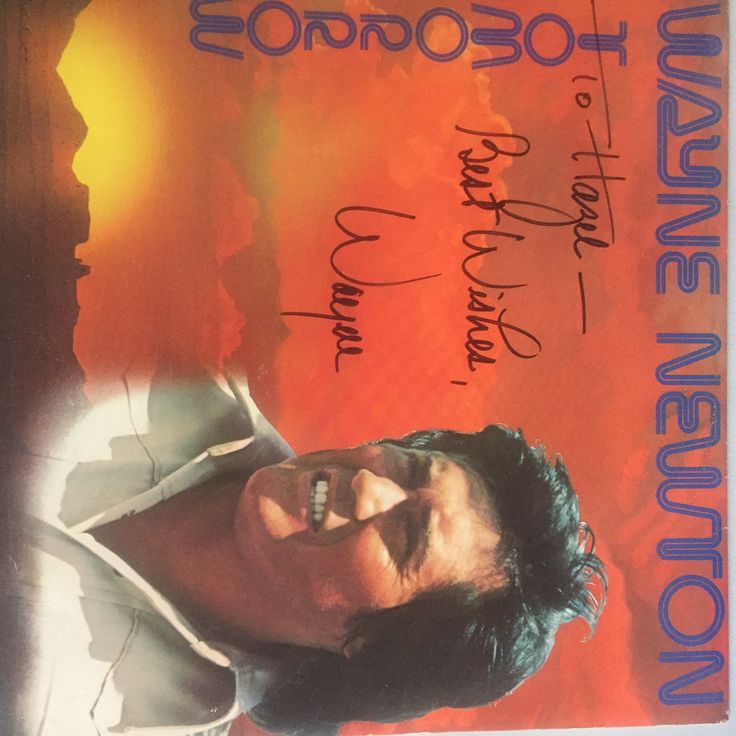 WAYNE NEWTON--Tomorrow--AUTOGRAPHED BY WAYNE NEWTON!!