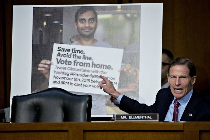Frustrated U.S. senators grill Facebook, Twitter, Google in Russia probe https://tmbw.news/frustrated-us-senators-grill-facebook-twitter-google-in-russia-probe  Exasperated U.S. senators harshly criticized representatives of Facebook, Twitter and Google at a hearing Tuesday for not doing more to prevent Russian agents interfering with the American political process as early as 2015.At one point, Sen. Al Franken shook his head after he couldn't get all the companies to commit to not accepting…