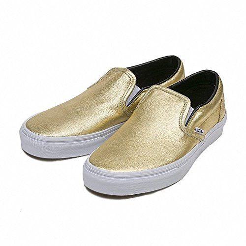 (バンズ) VANS CLASSIC SLIP ON クラシック スリッポン メタリック レザー ゴールド 金 靴... https://www.amazon.co.jp/dp/B01K1WAFI8/ref=cm_sw_r_pi_dp_x_8jARxbMWEH7E1