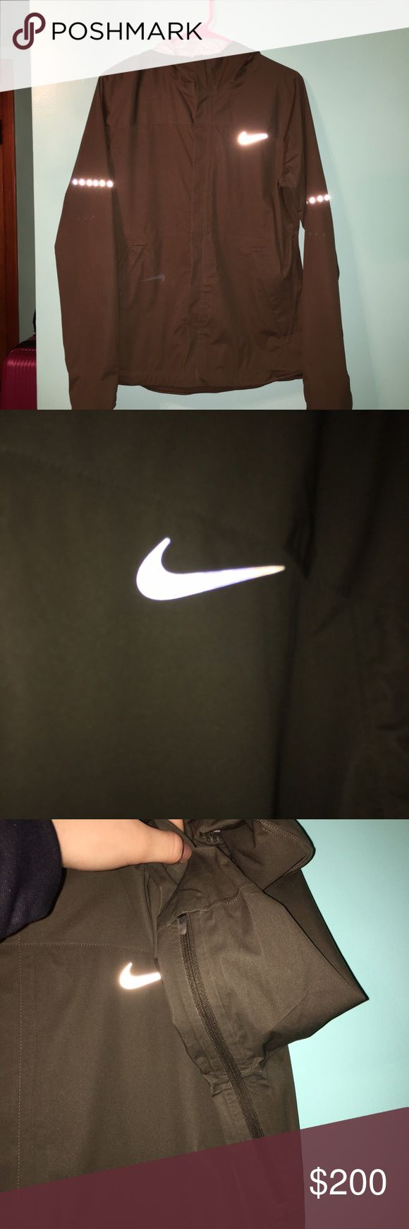 Women's Nike Jacket Medium Women's Nike Waterproof JacketSize Medium. This jacket is waterproof and wind proof! Like new! Nike Jackets & Coats Trench Coats