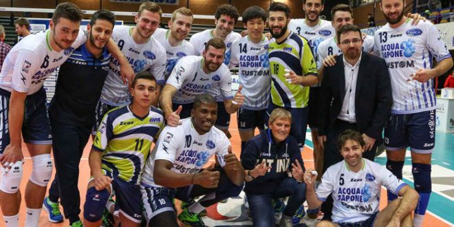 Top Volley Latina s'impone in tre set sulla Gi Group Monza