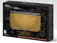 Nintendo New 3DS XL - Hyrule Gold Edition - GameStop Exclusive for Nintendo 3DS | GameStop
