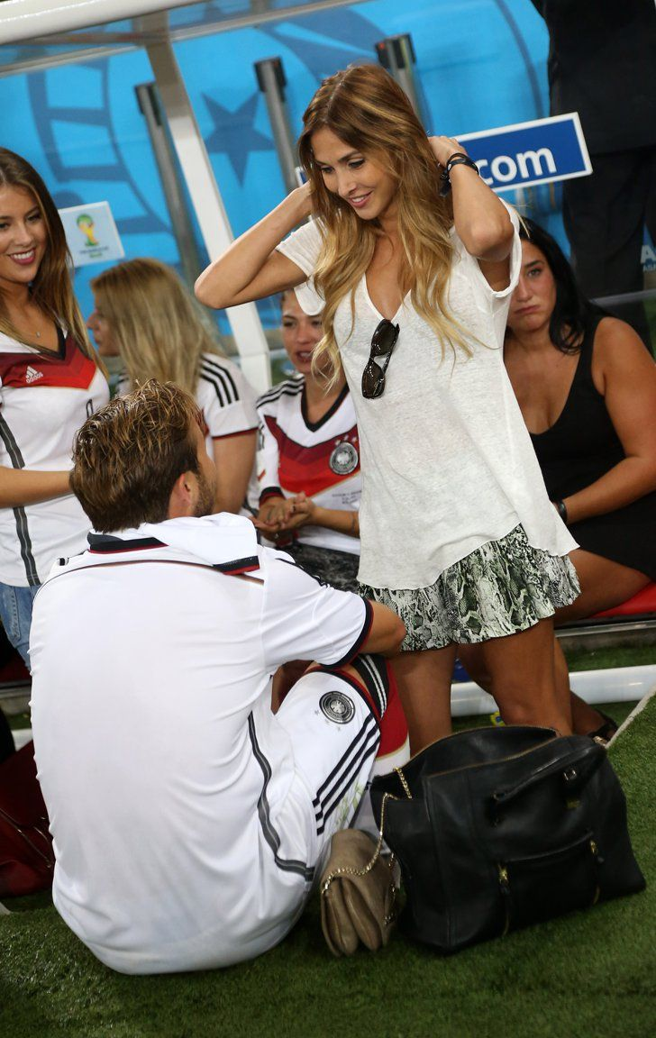 Pin for Later: Mario Götze and His Girlfriend Are Having the Best Week Ever