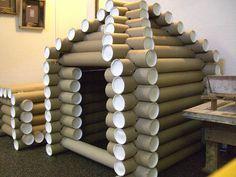 heavy cardboard tube project - Google Search
