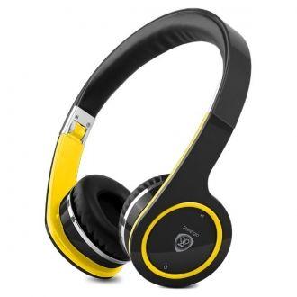 Wsłuchaj się w sedno muzyki!  Zestawy słuchawkowe Prestigio Bluetooth - swtylowy i kolorowy gadżet dla najbardziej wymagających klientów. Łatwo używa się go z tabletem, smartfonem lub laptopem wyposażonym w Bluetooth.  Rozpłyń się w muzyce  Skup się na muzyce - ciesz się pasją i mocą swoich ulubionych piosenek. Naciśnięcie przycisku przeniesie cię w zupełnie nowy świat dźwięku.