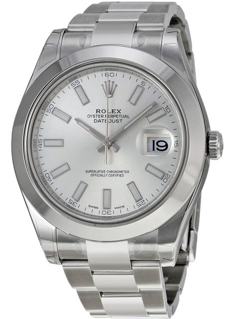 ZAEGER - Rolex Datejust II Automatic Silver Dial Stainless Steel Men's Watch 116300, (http://www.zaeger.com.au/all-watches/rolex-datejust-ii-automatic-silver-dial-stainless-steel-mens-watch-116300/)