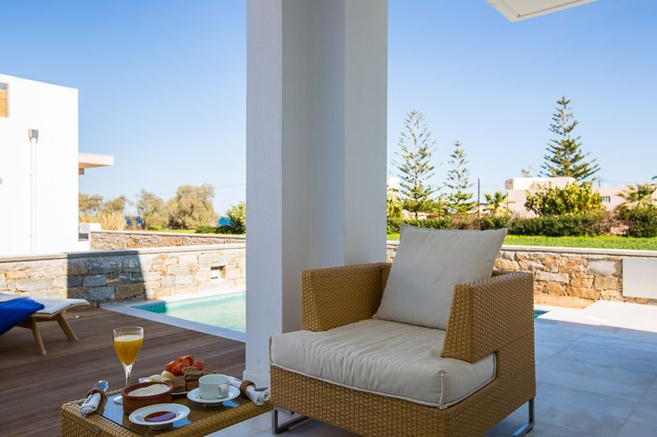 www.thalasses.com Thalasses Villas , Villa Melia in Pigianos Kampos, Rethymno, Crete, Greece #vacation_rental #thalasses_villas #4_luxurious_villas #villa_Melia #luxurious_accommodation #summer_holidays #privacy #summer_in_crete #Visit_Greece #outdoors #swimmingpool #sunbeds #sitting_areas #love_the_view