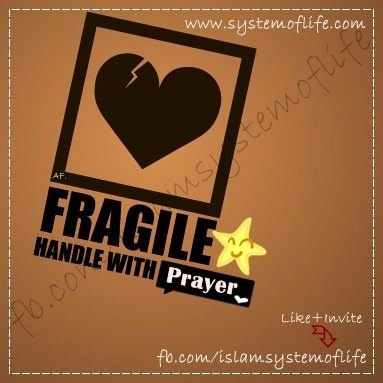 Heart is fragile...