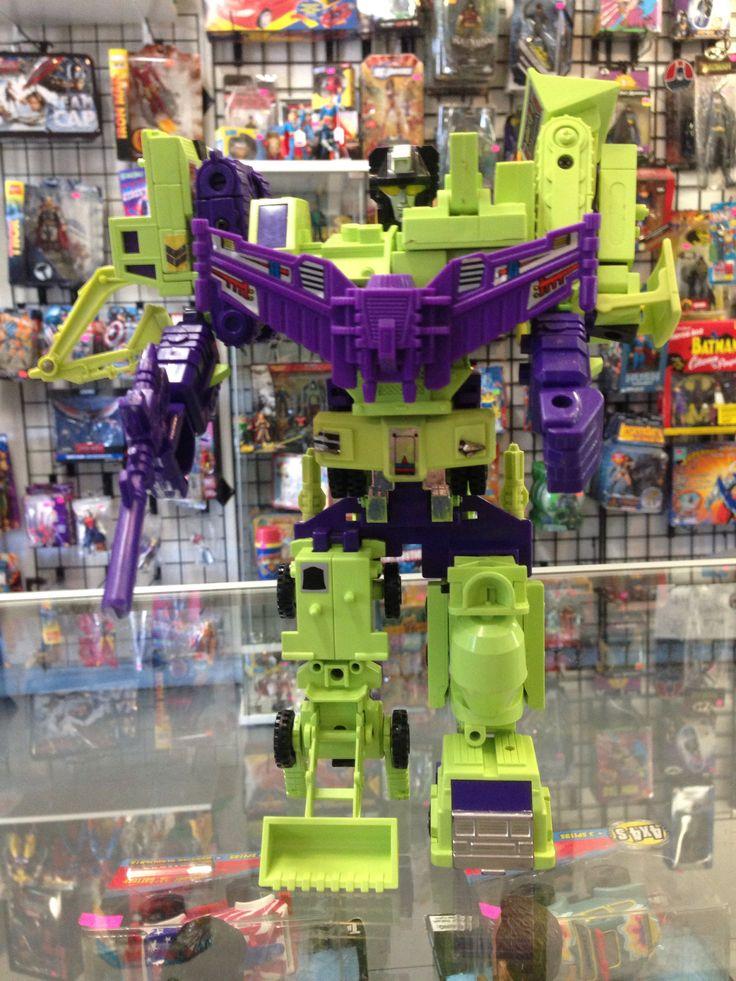 Hasbro Transformers G1 Consrtucticons Devastator