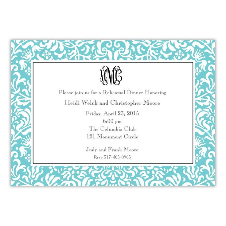 9 best southern invitations images on Pinterest Free stencils - free dinner invitation templates