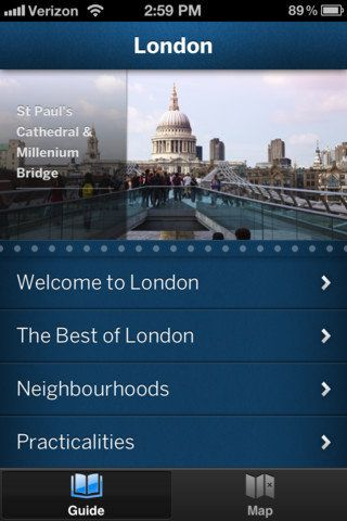 Great app! London Travel Guide — Lonely Planet ($6)