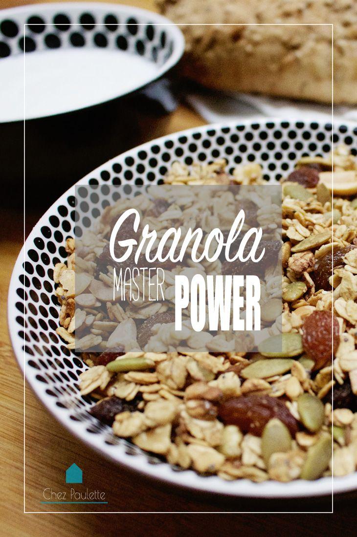 Granola master power! - Chez Paulette