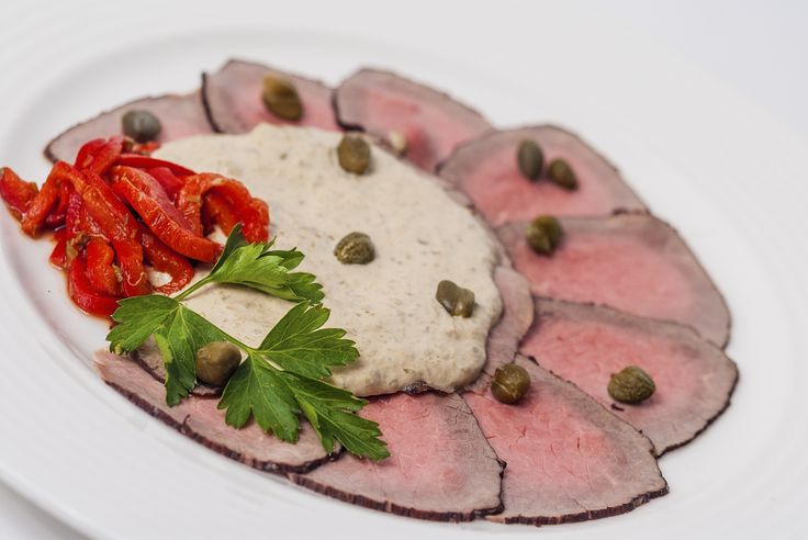 Take your taste buds to Piedmont today with a local traditional dish, the vitello tonnato.