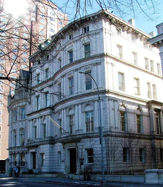 the 1906 Payne Whitney House, Upper East Side, NYC