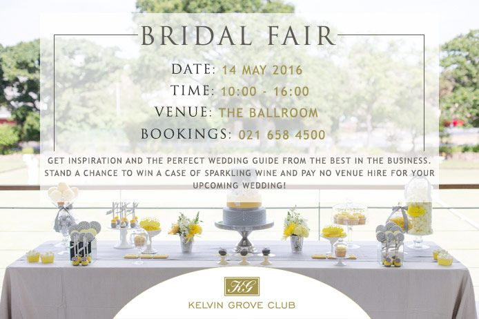 Win free venue hire & a case of sparkling wine at the Bridal Fair at Kelvin Grove on 14 May 2016.