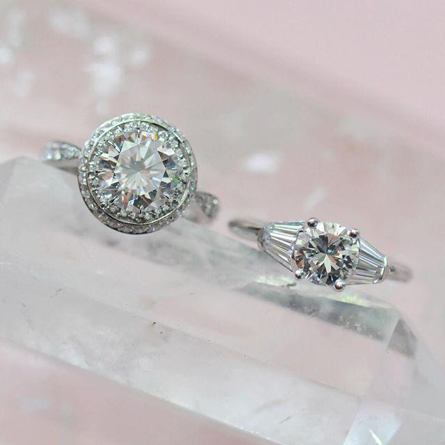 Perfect Round Diamonds regardless of budget Round Diamond Engagement Rings by Ricardo Basta Fine Jewelry