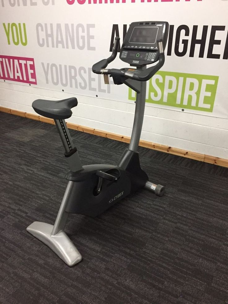 Cybex 750c Upright Bike Commercial Gym Equipment #Cybex