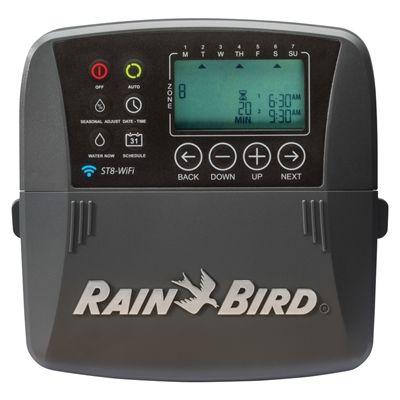 Rain Bird 8-Station Built-in WiFi Indoor/Outdoor Irrigation Timer