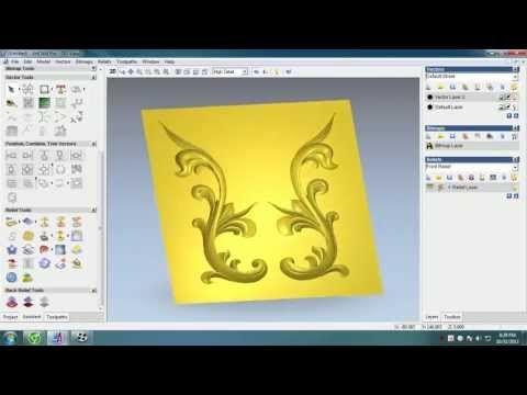 ArtCam Pro Tutorial Part 6 (Đt: 0947098569) - YouTube