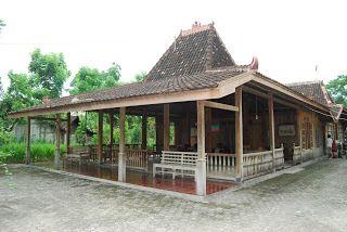 Joglo house - Traditional House East Java, Central Java, and Yogyakarta