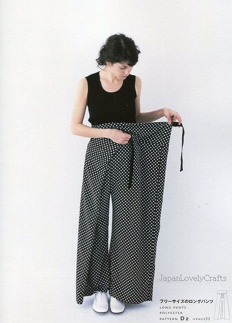 1 Pattern & A Little Something Extra by nooy, 2 Variation Style From 1 Pattern - Japanese Sewing Pattern Book 7 by JapanLovelyCrafts, via Flickr