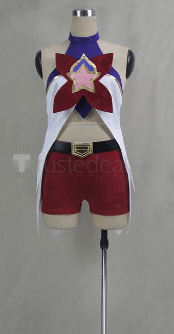 League of Legends Jinx Star Guardian Cosplay Costume #LOL #christmas