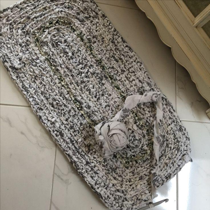 18 Best Crochet Floor Rugs Images On Pinterest