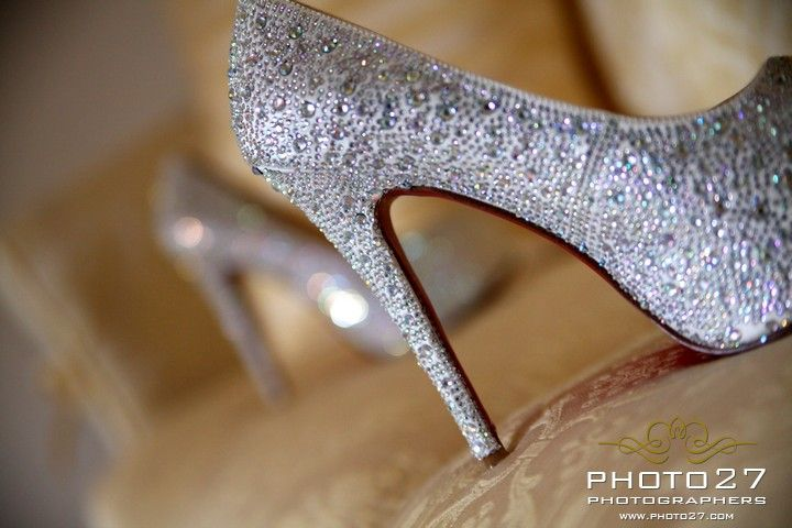 Lauboutin wedding shoes
