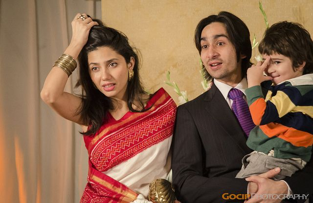 Mahira Khan with Husband