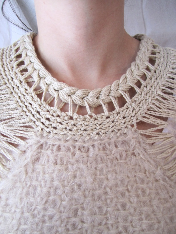 Alice LeMoine Domino pullover