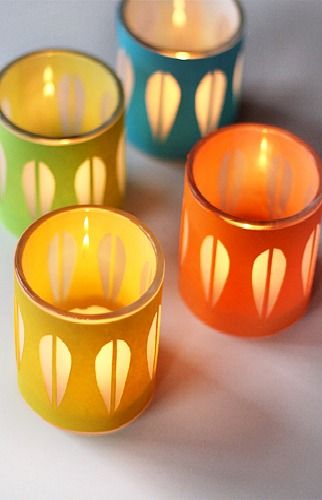 DIY Catherine Holm Style Candle Holders