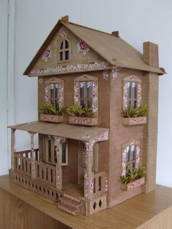 25 best ideas about doll house plans on pinterest diy for How to make a house step by step