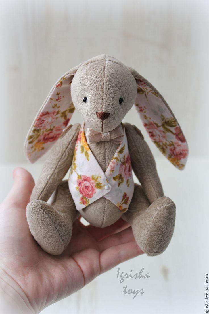 Купить Свадебные зайчата (розочки) - кремовый, зайки, зайчата, свадебные зайцы, свадебные зайки