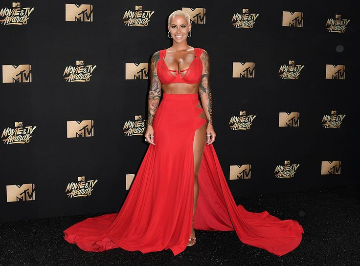 Amber Rose: MTV Movie & TV Awards 2017: Red Carpet Arrivals