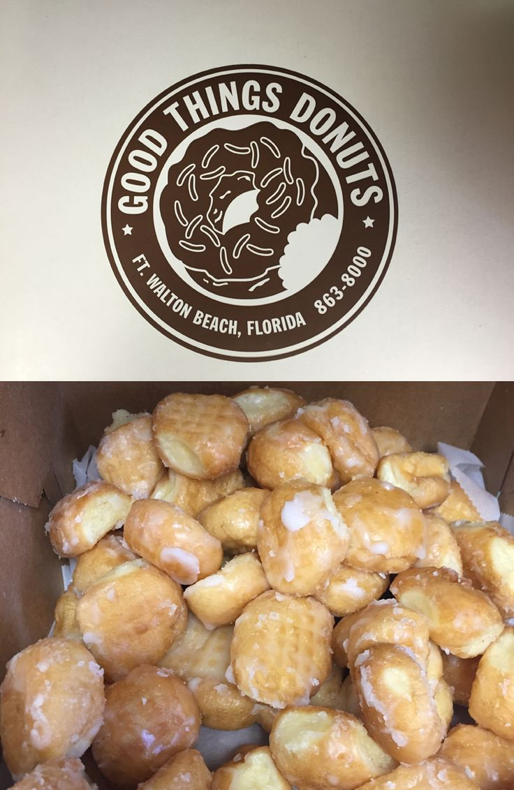 The Daily News staff was surprised with glazed doughnut holes from Good Things Donuts in Fort Walton Beach Florida. So good!