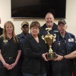 TA Truck Service at TA Robert Fernald Willington Wins Landstar's First Annual Inspection Site of the Year Award