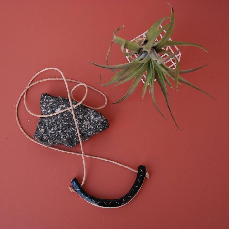Arch Necklace | Nightshift Ceramics