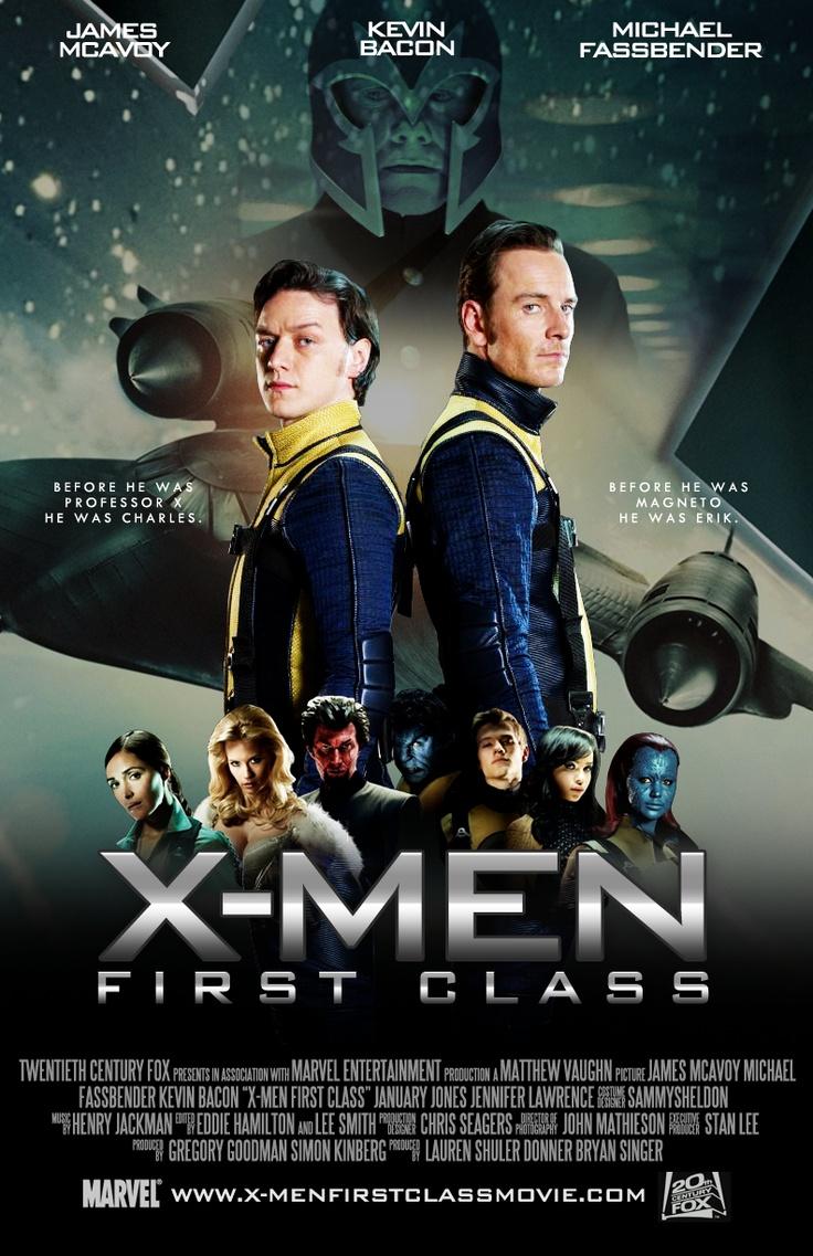 X Men First Class 2 Poster 155 best images...