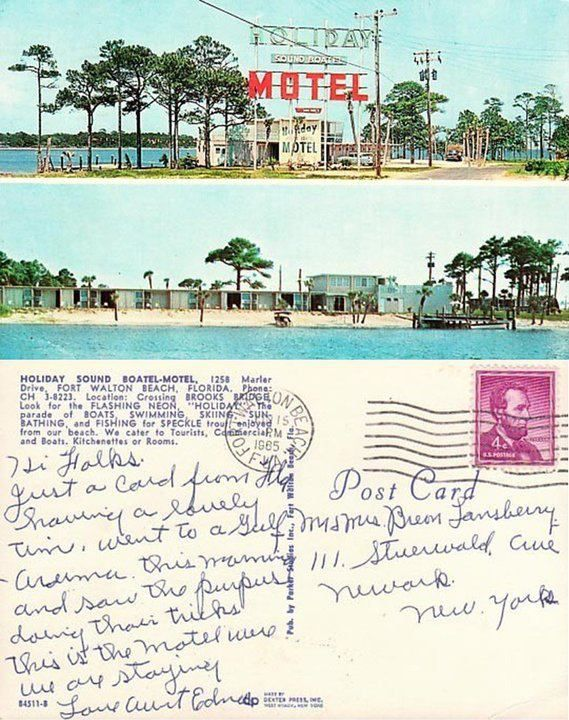 2340 best vintage motels and hotels images on pinterest for Beach city motors fort walton beach fl