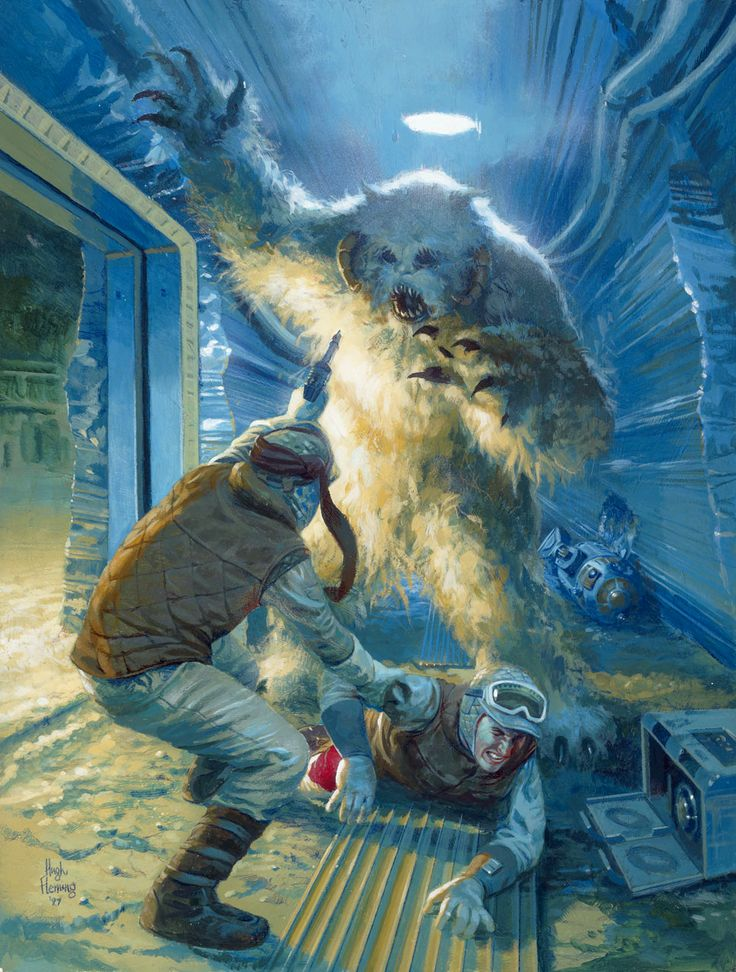 A Wampa Attacks Rebel Soldiers In Echo Base Usa 4