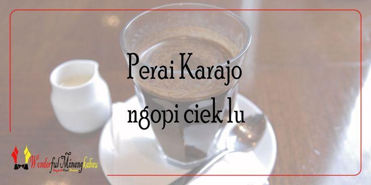 Hari Libur 'karajo' dalam Kebiasaan Orang Minang