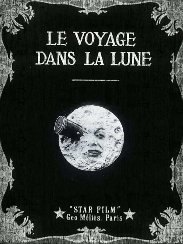 Le voyage dans la Lune primeiro filme com efeitos especiais, grande inovação para a altura.