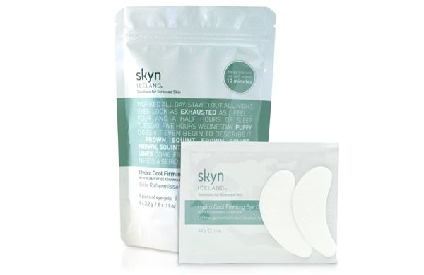 Reduce the appearance of dark, puffy eyes in just 10 minutes with the Skyn ICELAND Hydro Cool Firming Eye Gels.