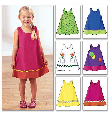 Butterick B3772 I'm going to try to make Annie's reversible birthday dress using this pattern. I hope JoAnn's has it!