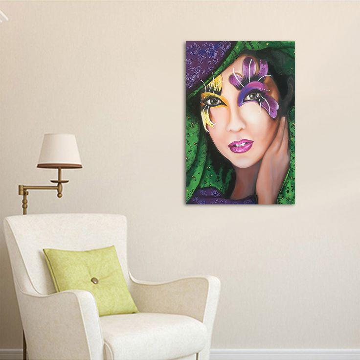 #Otantik / #Authentic by Bahar Ulus Tuval üzerine #YağlıBoya / #Oiloncanvas 50cm x 70cm 1.750₺ / 500$  #gallerymak #oilpainting #sergi #icmimari #portrait #kadın #tasarim #sanat #plastiksanatlar #artforsale #evdekorasyonu #resim #tablo #contemporaryart #dekorasyon #artoftheday #mimari #finearts #contemporary #içmimar #modernart #mimar #modernsanat #artgallery #artoftheday #ig_sanat