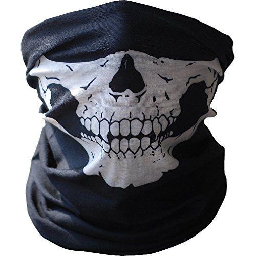 Orien Skelett Ghost Face Maske Skull Biker Sturmhaube Kost�m Halloween Cosplay Schal Handtuch