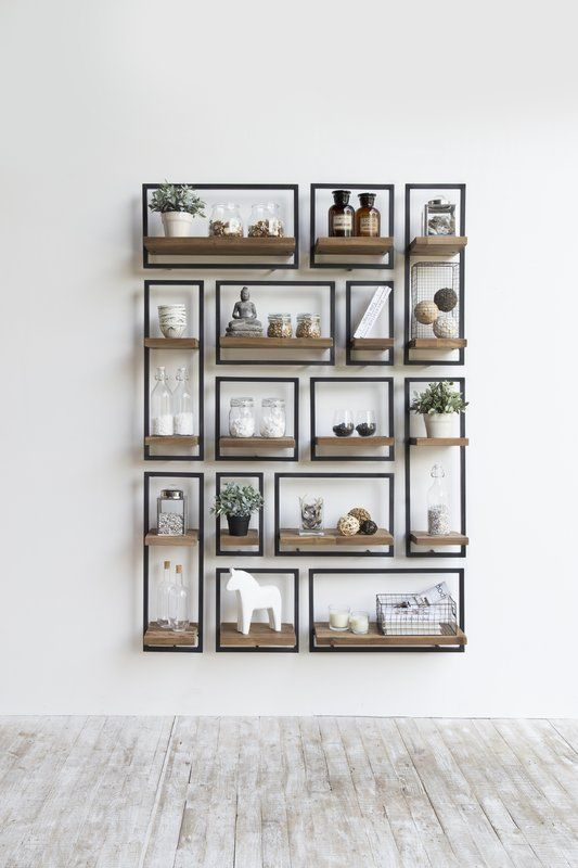 Langridge Metal Frame Wall Shelf In 2018 Ideas For The House