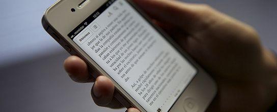 Cinco 'apps' para leer libros electrónicos desde tu 'smartphone'