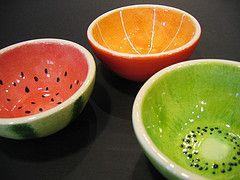 Fruchtige Schüsseln